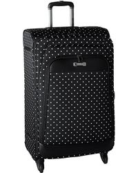Kenneth Cole Reaction - Dot Matrix Collection - 28 4-wheel Upright (black/white Dots) Luggage - Lyst