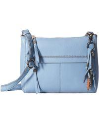 The Sak - Alameda Crossbody (arctic Blue) Cross Body Handbags - Lyst