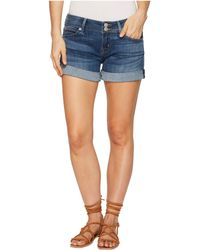 Hudson Jeans - Croxley Mid Thigh Shorts In Paramour (paramour) Women's Shorts - Lyst