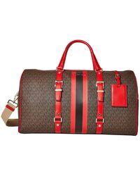 MICHAEL Michael Kors Bedford Travel Extra Large Duffle Bag - Brown