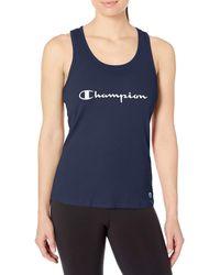 Champion Sleep Racerback Tank - Blue
