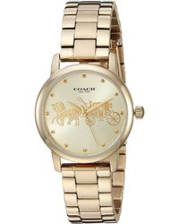 COACH - Grand - 14502976 (gold) Watches - Lyst