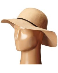 San Diego Hat Company Womens Floppy with Pinch Crown and Double Pu Band