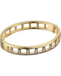 Vince Camuto - Thin Button Hinge Bangle - Lyst