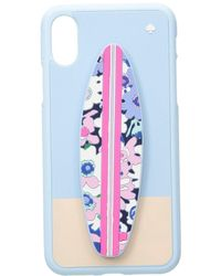 Kate Spade - Silicone Surfboard Stand Phone Case For Iphone X - Lyst