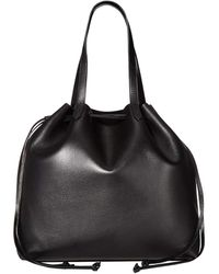 Madewell The Drawstring Transport Tote - Black