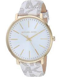 Michael Kors Access Touchscreen Smartwatch-lexington Tri-tone Stainless Steel Smart Watch - Metallic