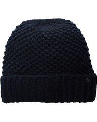 Lauren by Ralph Lauren - Birdseye Texture Hat (wine) Cold Weather Hats - Lyst