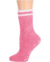 Karen Neuburger Novelty Gripper Sock - Pink