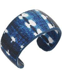 The Sak | Print Covered Cuff Bracelet | Lyst