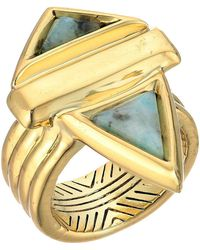 House of Harlow 1960 - Pyramid Stone Ring - Lyst