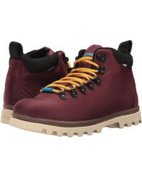Native Shoes - Fitzsimmons Treklite (utili Green/spice Red/onyx Black) Shoes - Lyst