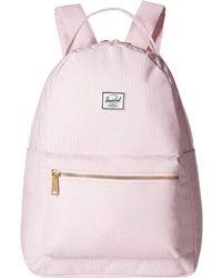 32ce3a7e7803 Herschel Supply Co. - Nova Mid-volume (pink Lady Crosshatch) Backpack Bags