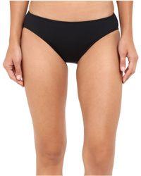 Lauren by Ralph Lauren Chevron Solid Hipster Bottom - Black