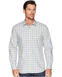Calvin Klein - Heather Melange Plaid Sport Shirt (clear Sky) Men's Clothing - Lyst