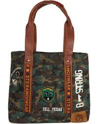 STS Ranchwear Camo Tote - Green