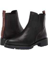 99629088379f Sam Edelman - Jaclyn (black Suede Velour Suede Leather) Women s Shoes - Lyst