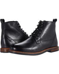 Ben Sherman Birk Plain Toe Boot Oxford - Black