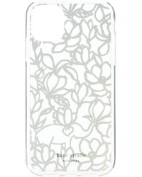 Kate Spade Scribble Flora Phone Case For Iphone(r) 11 - Multicolor