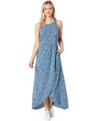 Toad&Co Sunkissed Maxi Dress - Blue