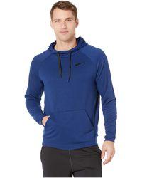 ba1fa7ae9e48 Nike - Dry Training Pullover Hoodie (mineral Spruce black) Men s Sweatshirt  - Lyst