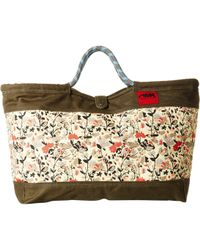 Mountain Khakis Limited Edition Market Tote (wildflower Print) Tote Handbags - Multicolor