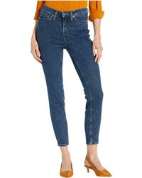 Silver Jeans Co. High Note High-rise Skinny Leg Jeans In Indigo L64027asx327 - Blue