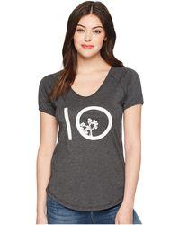 Tentree - Leaf Ten T-shirt (phantom) Women's Clothing - Lyst