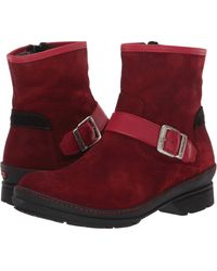 Wolky Nitra Waterproof - Red