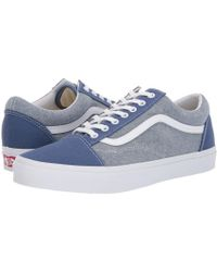 011150093a Vans - Old Skooltm (tiger s Eye true White) Skate Shoes - Lyst