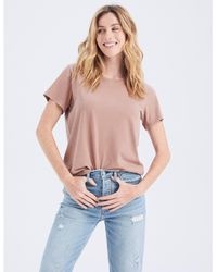 Abercrombie & Fitch Short-sleeve Relaxed Tee - Pink