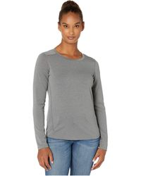 Toad&Co Swifty Jet Long Sleeve Crew - Gray