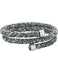 1fd8a9bdc0565 Swarovski Crystaldust Cuff Bracelet in Metallic - Save 32% - Lyst