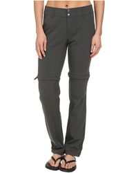 3af2002e221 Columbia - Saturday Trailtm Ii Convertible Pant (black) Women s Casual Pants  - Lyst