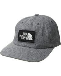 da23cc737fc5a The North Face - Wool Ball Cap (tnf Medium Grey Heather tnf Black Heather