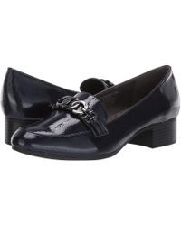 A2 By Aerosoles Accommodate (black Patent) Slip On Shoes