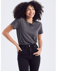 Abercrombie & Fitch Short-sleeve Relaxed Tee - Black