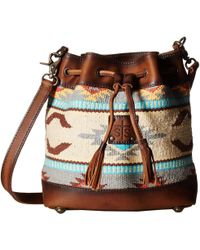 STS Ranchwear - The Classic Bucket Bag (tornado Brown/sedona Serape) Handbags - Lyst