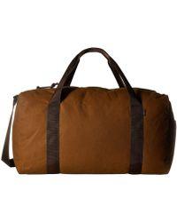 Filson - Field Duffel - Medium (dark Tan/brown) Duffel Bags - Lyst