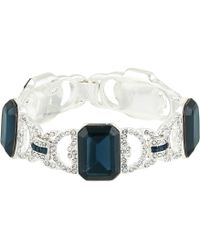 Lauren by Ralph Lauren - 7.5 Stone Drama Line Bracelet (blue) Bracelet - Lyst