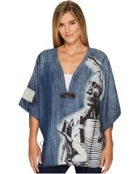 Double D Ranchwear - Story Of Lone Feather Poncho - Lyst