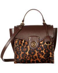 7fdbcba973fc Lauren by Ralph Lauren - Millbrook Top Handle Crossbody Satchel (burnt  Orange) Handbags -