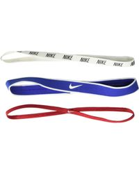 Nike - Mixed Width Headbands 3-pack (wheat/black/ember Glow) Headband - Lyst