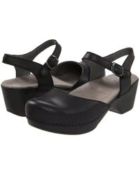 Dansko - Sam (black) Women's 1-2 Inch Heel Shoes - Lyst