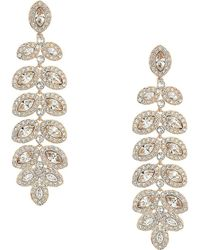 Swarovski - Baron Pierced Earrings - Lyst