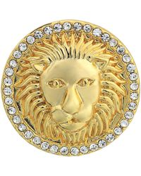 Vince Camuto Lion Head Pin - Metallic