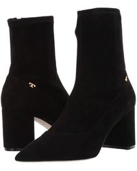 Tory Burch - 65 Mm Penelope Bootie (perfect Black/perfect Black) Women's Pull-on Boots - Lyst