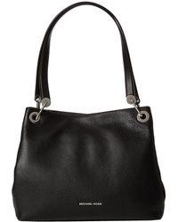 4a56852fe139 MICHAEL Michael Kors - Raven Large Shoulder Tote (pearl Grey) Tote Handbags  - Lyst