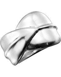 Robert Lee Morris Overlap Ring - Metallic