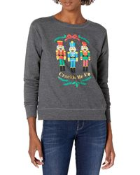 Hanes Ugly Christmas Sweater - Crackin Me Up - Gray